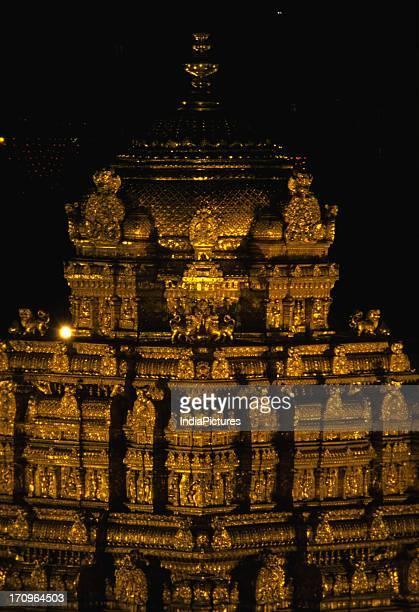 Temple Gopuram Tirupati Andhra Pradesh India