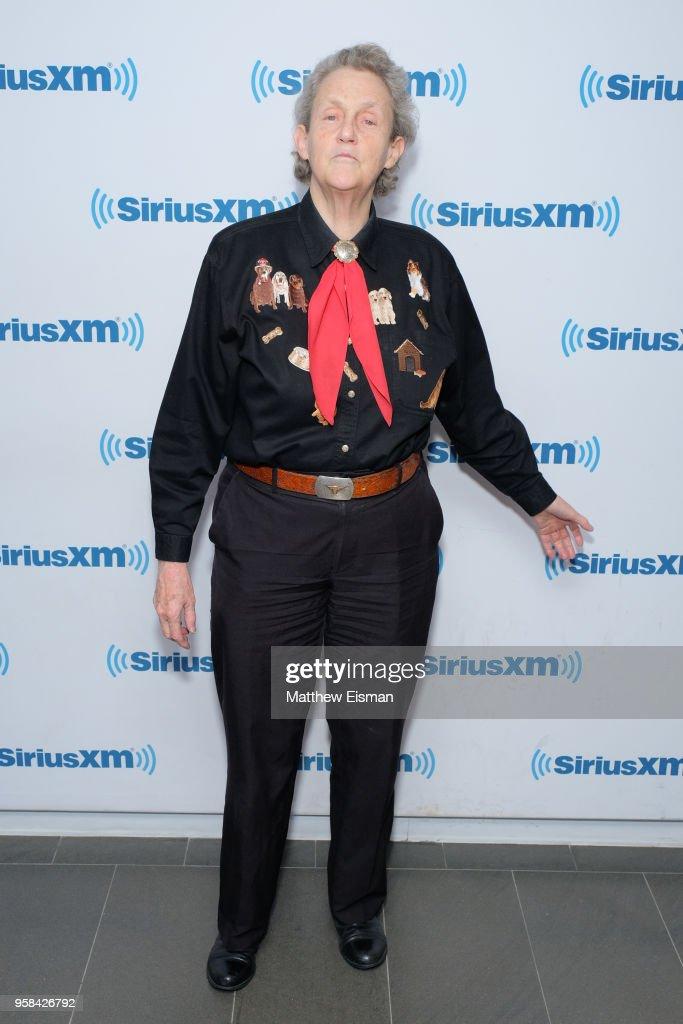 Temple Grandin visits SiriusXM Studios on May 14, 2018 in New York City.