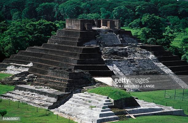 Temple I Comalcalco Tabasco Mexico Mayan civilisation 6th10th century
