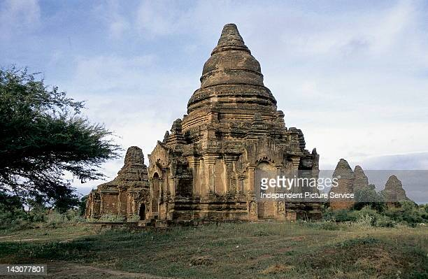 Temple in Bagan an early center of Theravada Buddhism Myanmar
