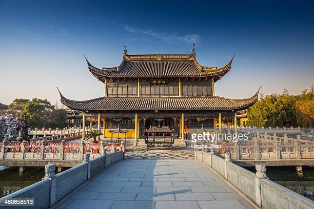 A temple in jiangsu province of China