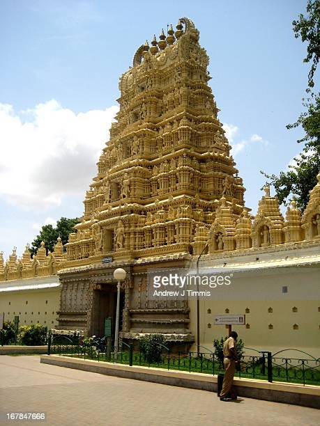 Temple in Mysore Palace grounds