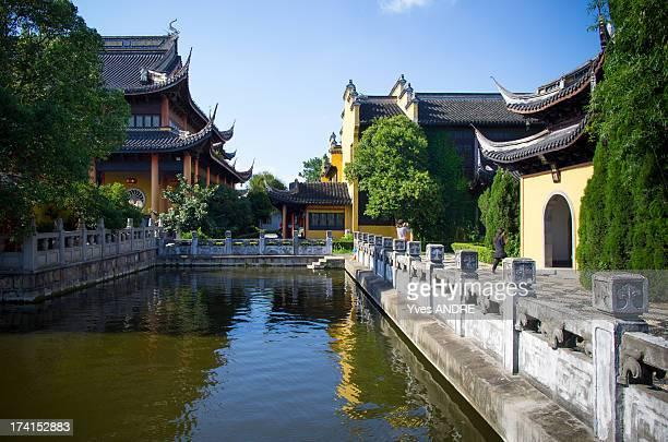 Temple in Zhouzhuang, China