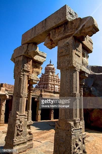 Temple main tower - Lepakshi
