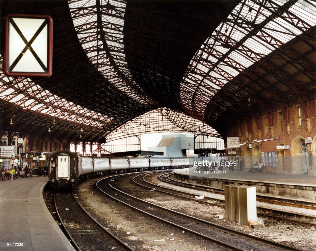 Temple Meads Station, Bristol. Artist: M Hesketh Roberts : News Photo