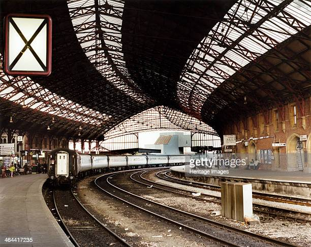 Temple Meads Station Bristol Temple Meads Station was designed in a 15th century style for the Great Western Railway The glass and iron roof over the...