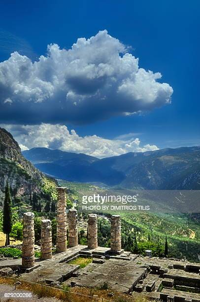 temple of apollo 2 - ユネスコ ストックフォトと画像