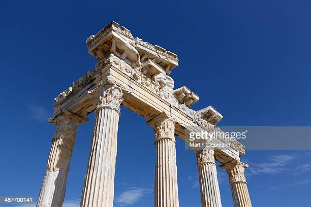 Temple of Apollo, ancient city of Side, Pamphylia, Antalya Province, Turkey