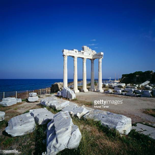 temple of apollo - butlins stock pictures, royalty-free photos & images