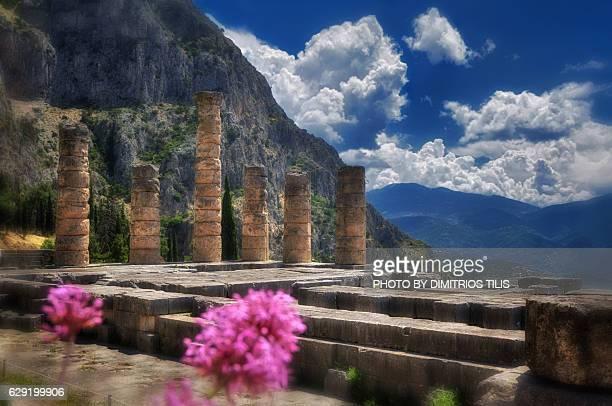 temple of apollo - ユネスコ ストックフォトと画像