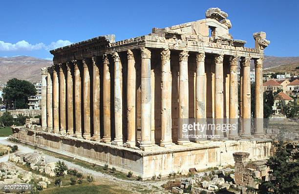Temple of Bacchus Baalbek Lebanon In Roman times Baalbek in Lebanon's Bekaa Valley was known as Heliopolis the City of the Sun It is the site of some...