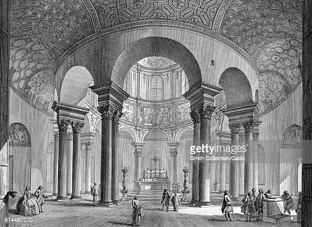 Temple of Bacchus Italy 1749 This print by John WiltonEly depicts an imagined architectural feature from an etching by the Italian artist Giovanni...