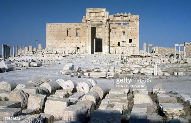 Temple of Bel or Baal, Palmyra , Syria. Roman civilisation, 1st century AD. Detail.