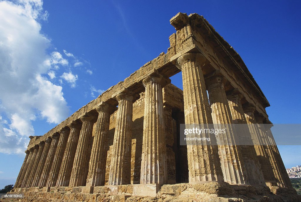 Temple of Concord, Agrigento, Sicily, Italy : Stock Photo