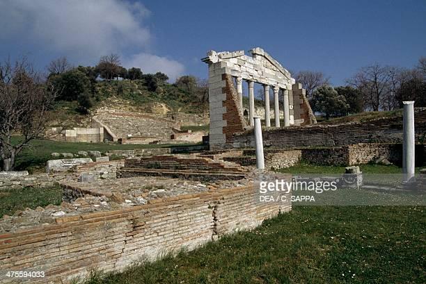 Temple of Diana and Bouleuterion Apollonia Albania Greek civilisation