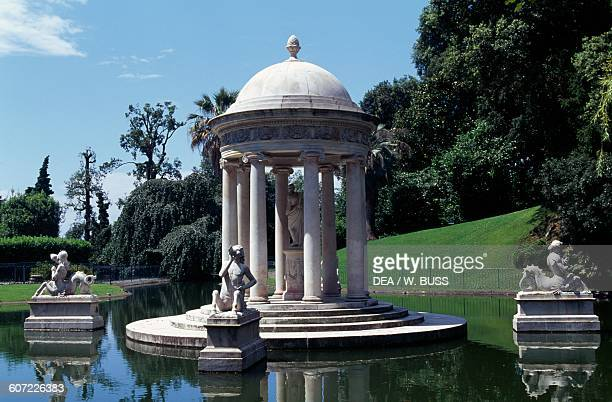 Temple of Diana Park of Villa DurazzoPallavicini Pegli Genoa Liguria Italy 19th century