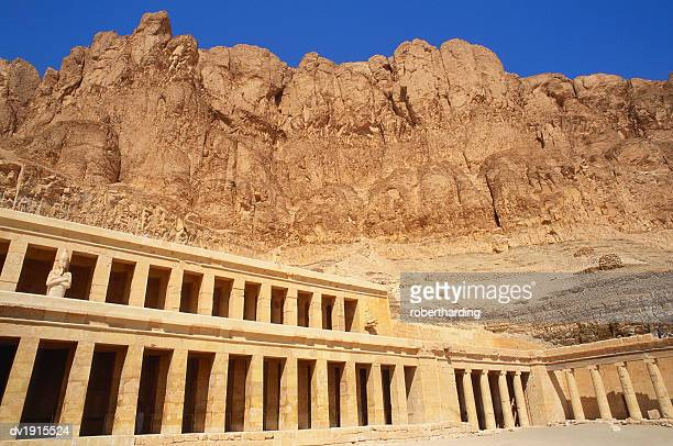 temple of hatshepsut, egypt - travel14 stock pictures, royalty-free photos & images