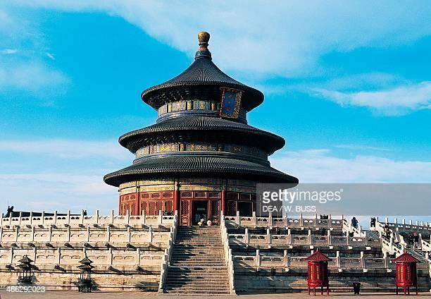 Temple of Heaven , Beijing , China, 15th century.