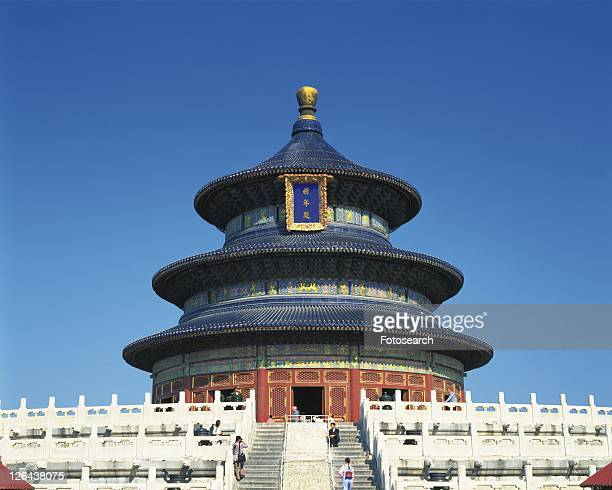 Temple of Heaven, Beijing, China, Asia, Low Angle View, Pan Focus