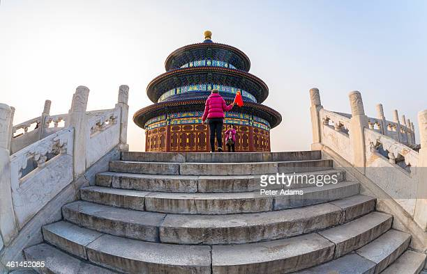 temple of heaven & hall of prayer for the harvest - peter adams stock pictures, royalty-free photos & images