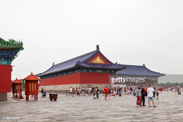 templo del cielo en beijing - gwengoat fotografías e imágenes de stock