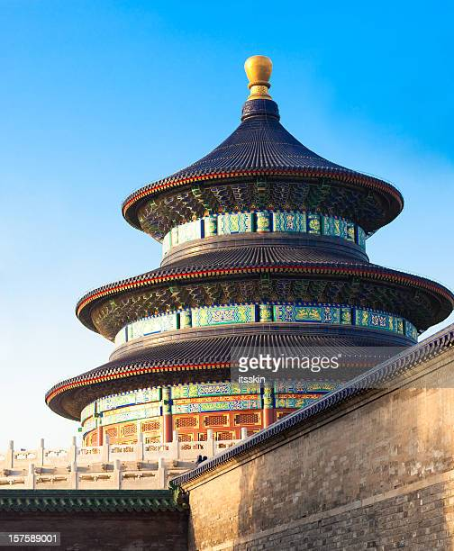 temple of heaven - temple of heaven stock pictures, royalty-free photos & images