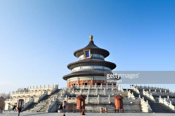Temple of Heaven scenary in Beijing,China.