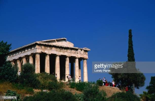Temple of Hephaestus at Ancient Agora, the best preserved Doric temple in Greece.