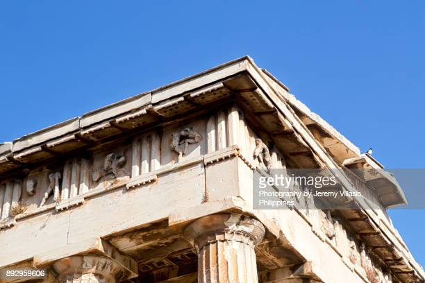 Temple of Hephaestus in the Ancient Agora of Athens