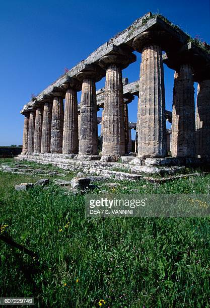 Temple of Hera also known as the Basilica Paestum Campania Italy 6th century BC