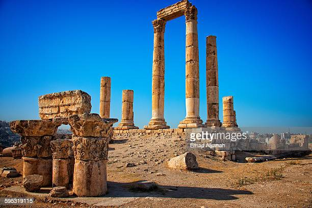 Temple of Hercules at Amman Citadel, Amman, Jordan