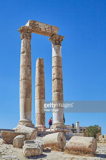Temple of Hercules ruins at the Citadel