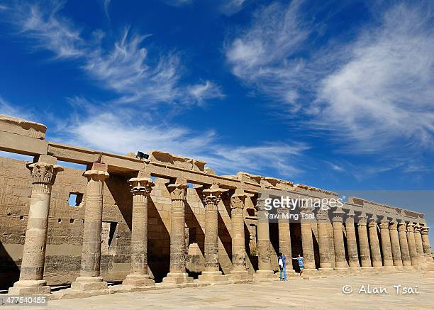 Temple of Isis The Ancient Egyptians built a beautiful and magnificent Temple on Philae Island for the Goddess Isis, but the Temple became submerged...