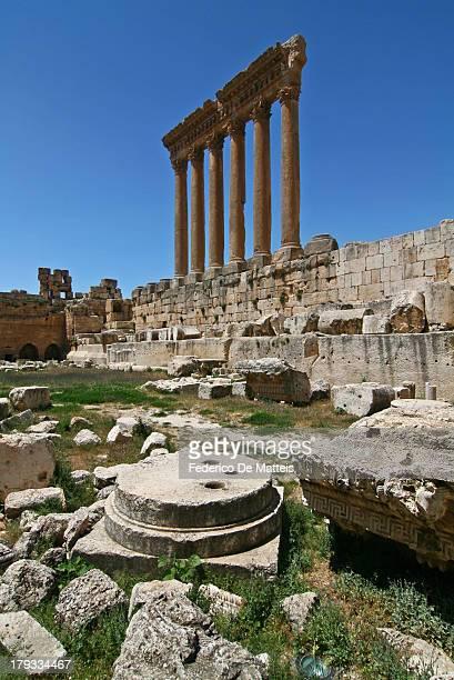 CONTENT] Temple of Jupiter Baalbek Lebanon
