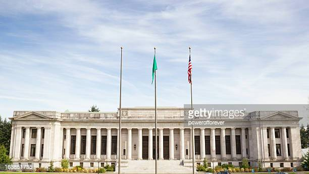 temple of justice - washington supreme court building - supreme court stock pictures, royalty-free photos & images