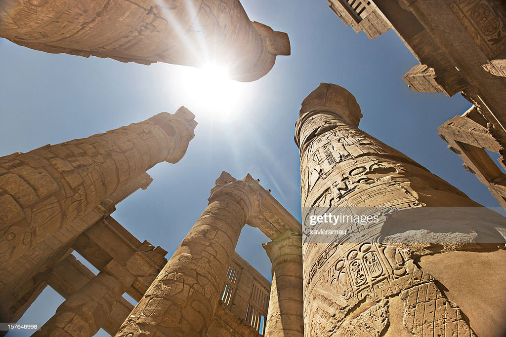 Temple of Karnac : Stock Photo