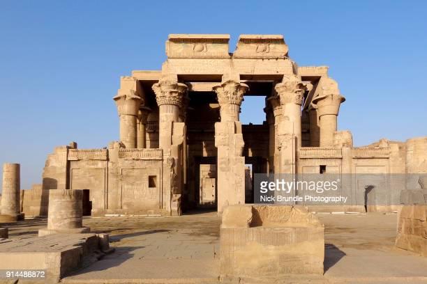 Temple of Kom Ombo, Aswan, Egypt.