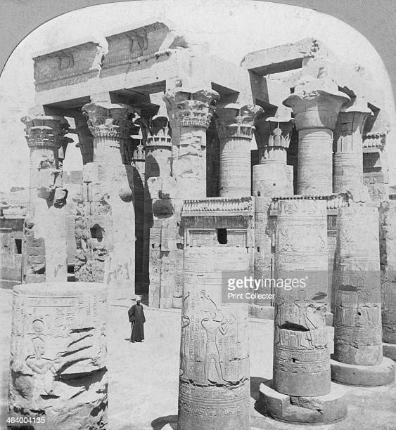 Temple of Kom Ombo Egypt c1899 Kom Ombo is actually two temples consisting of a Temple to Sobek and a Temple of Haroeris It was begun by Ptolemy VI...