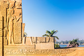 Temple of Kom Ombo, located in Aswan, Egypt.