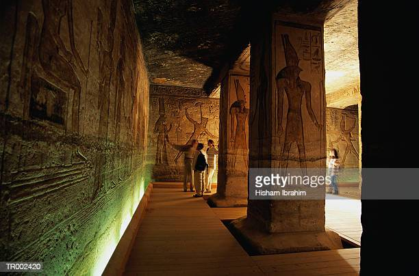 temple of nefertare - abu simbel stock pictures, royalty-free photos & images