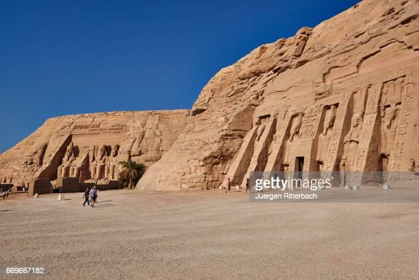 temple of Nefertari and temple of Ramses II