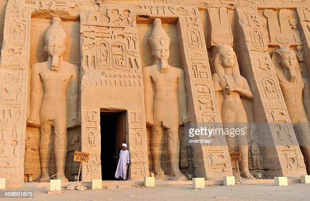 temple of nefertari - abu simbel stock pictures, royalty-free photos & images