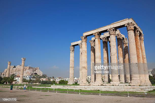 Temple of Olympian Zeus and the Acropolis