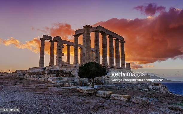 Temple Of Poseidon at Sounio cape