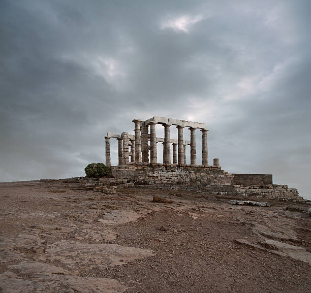 Temple of Poseidon at Sounion, Greece