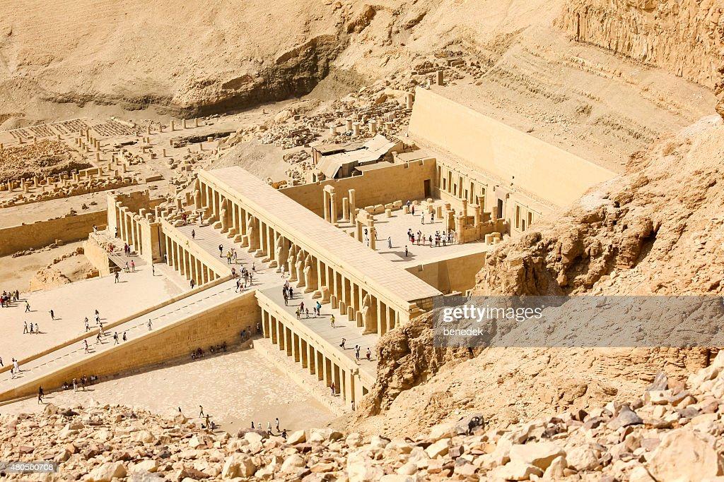 Temple of Queen Hatshepsut Egypt : Stock Photo