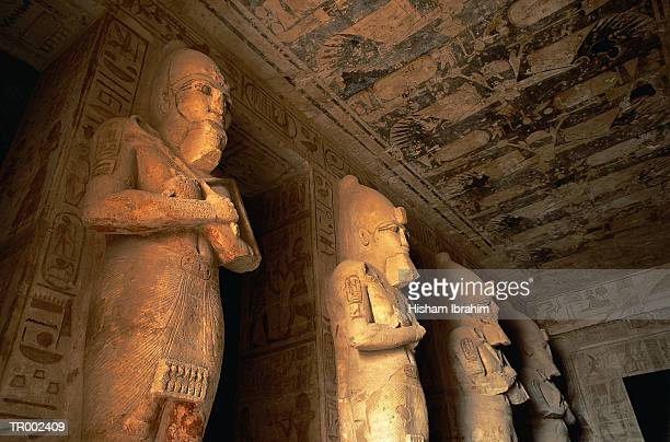 temple of ramses ii - abu simbel stock pictures, royalty-free photos & images