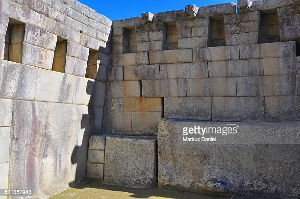 "temple of the altar in machu picchu, peru - ""markus daniel"" stock pictures, royalty-free photos & images"
