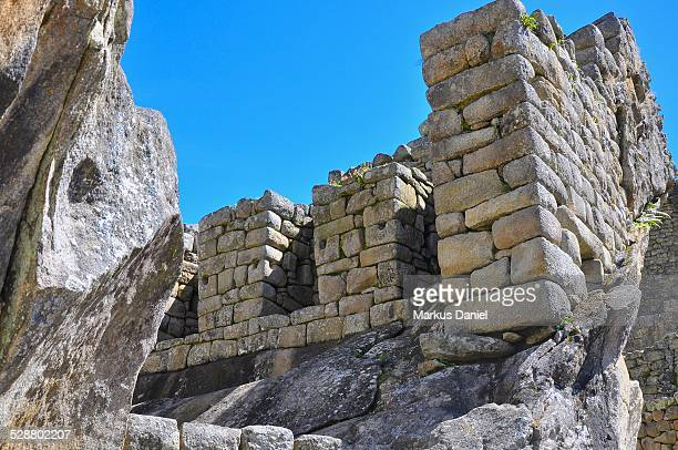 "temple of the condor in machu picchu - ""markus daniel"" stock pictures, royalty-free photos & images"