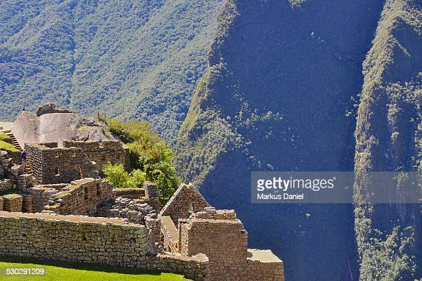 Temple of the Condor in Machu Picchu